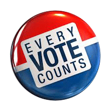 Button - Every Vote Counts