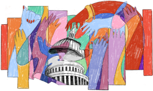 Painting of Congress - Modern